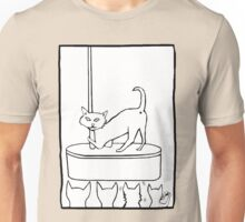 Cat Stripper Fun Unisex T-Shirt
