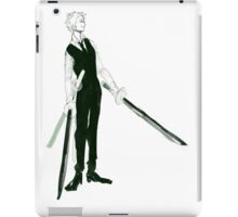 suits 'n swords iPad Case/Skin