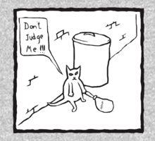 Don't Judge Me Cat by Fangpunk