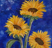Sunflowers by JEChesnut