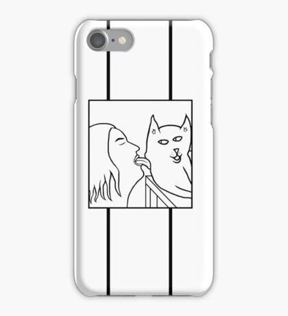 Cat Licker iPhone Case/Skin