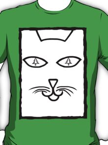 Christmas Cat Eyes T-Shirt
