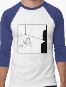 Feed Me Now Cat Men's Baseball ¾ T-Shirt