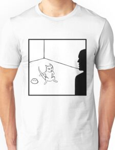 Feed Me Now Cat Unisex T-Shirt