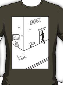 Rehab Cat T-Shirt