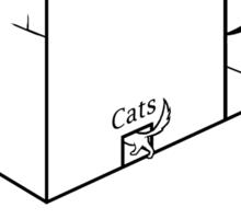 Rehab Cat Sticker