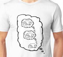 Sleep Dream Cat Unisex T-Shirt
