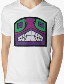 Totem Pole Mole Mens V-Neck T-Shirt
