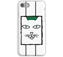 Christmas Cat Eyes in Colour iPhone Case/Skin