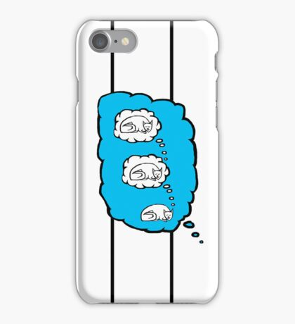 Sleep Dream Cat in Colour iPhone Case/Skin