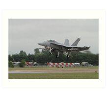 Boeing Super Hornet Art Print