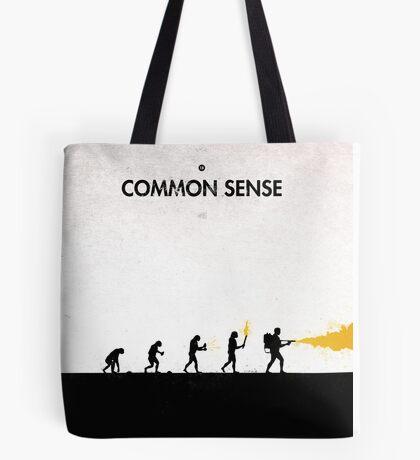 99 Steps of Progress - Common sense Tote Bag