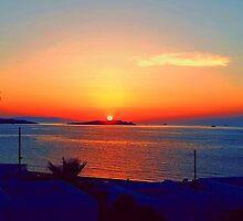 Magical Sunsets in Mykonos by designzbyjamz