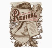 Railroad Revival Tour 2012 Baby Tee