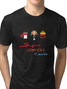 Super 8bit Super combo(text) Tri-blend T-Shirt