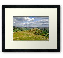 Walking The Great Ridge  Framed Print