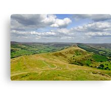 Walking The Great Ridge  Canvas Print