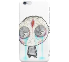 the saddest man alive (photoshop colored)! iPhone Case/Skin
