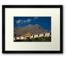 Kungri Monastery  Framed Print