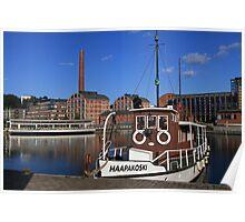 'Haapakoski', Lahti harbour, Finland Poster