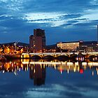 Night photography - belfast #2 by Fred Taylor