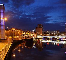 Night photography - belfast #3 by Fred Taylor