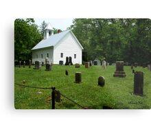 Cemetery at Cades Cove Primitive Baptist Church  Metal Print
