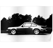 911 Silhouette Poster