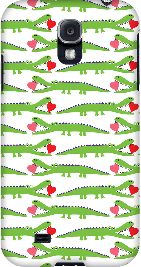 Alligator Love  3G  4G  4s iPhone case by Andi Bird