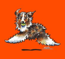 Red Merle Australian Shepherd Let's Play Kids Clothes