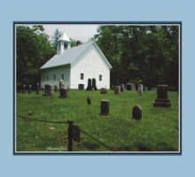 Cemetery at Cades Cove Primitive Baptist Church  Baby Tee