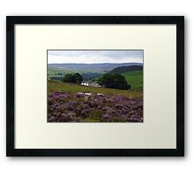 Above Bolton Abbey Framed Print
