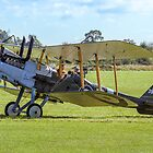 R.E.8 Reproduction A3930 at Old Warden by Colin Smedley
