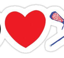 Peace Love Lacrosse Sticker