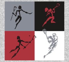 Lacrosse Abstract by SportsT-Shirts