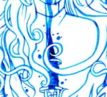 Dark Swan Ink Sticker