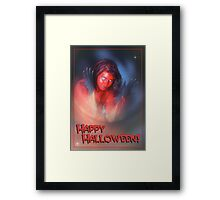 Happy Halloween Framed Print