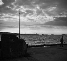 Melancholic Istanbul by espanek