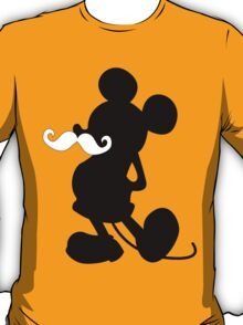Mickey Mouse MUSTACHE  T-Shirt