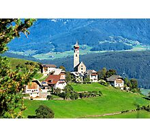 South Tyrolean Hamlet #2 Photographic Print