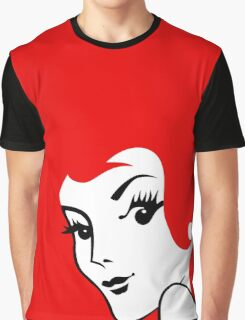 Miss Redhead [iPhone / iPad / iPod case / Tshirt / Print] Graphic T-Shirt