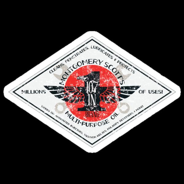 Montgomery Scott's 107-in-1 Brand Multipurpose Oil by M Dean Jones