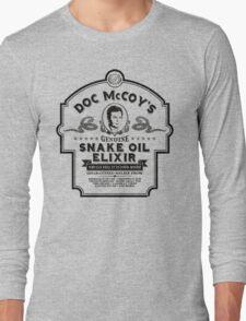 Doc McCoy's Genuine Snake Oil Elixir Long Sleeve T-Shirt