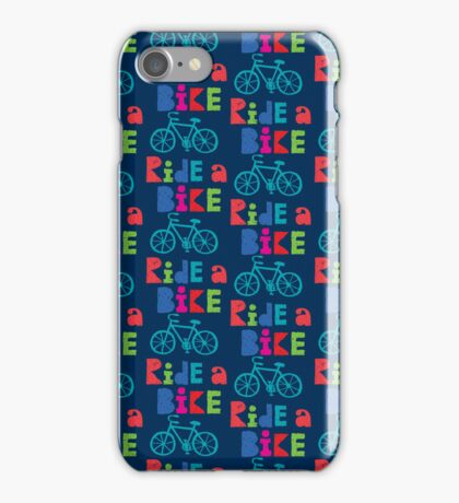 Ride a Bike Sketchy navy 3G  4G  4s iPhone case   iPhone Case/Skin