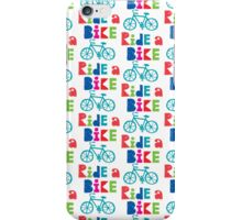 Ride a Bike Sketchy white 3G  4G  4s iPhone case   iPhone Case/Skin