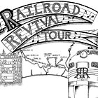 Railroad Revival Tour Tee Design by MrCLPeters