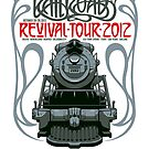 Railroad Revival Tour T-Shirt Design Contest by headless