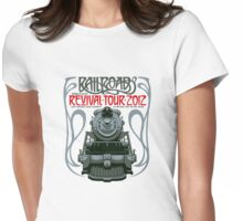 Railroad Revival Tour T-Shirt Design Contest Womens Fitted T-Shirt