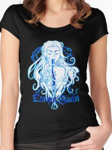 Dark Swan Ink Women's Fitted Scoop T-Shirt