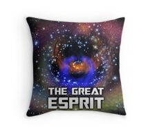 The Great Esprit Throw Pillow